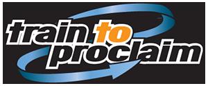 Train to Proclaim Logo